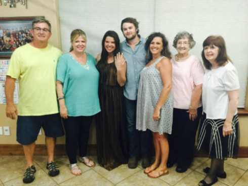 Amy Duggar Engagement Celebration