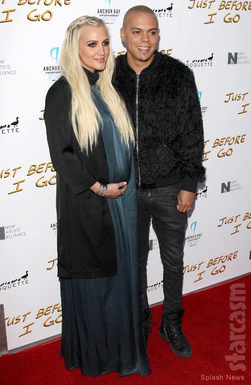Ashlee Simpson pregnant Evan Ross