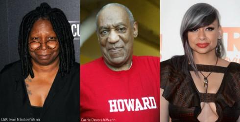 Bill Cosby - Raven Symone - Whoopi Goldberg