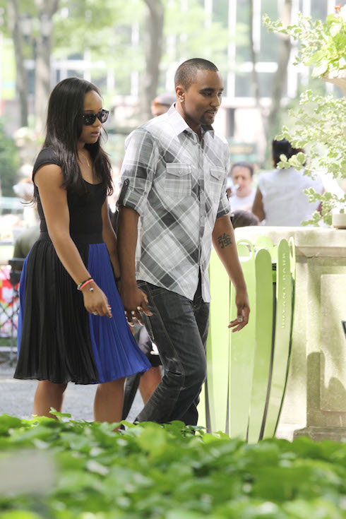 Whitney Houstons daughter, Bobbi Kristina has been moved to Hospice after being taken off of Life Support Featuring: Bobbi Kristina, Nick Gordon Where: New York, New York, United States When: 24 Jun 2015 Credit: Michael Carpenter/WENN.com **Not available for New York Daily News.**