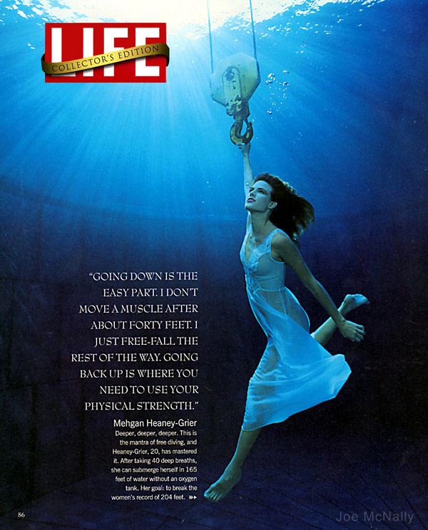 Treasure Quest Snake Island Diver Mehgan Heaney-Grier Life magazine