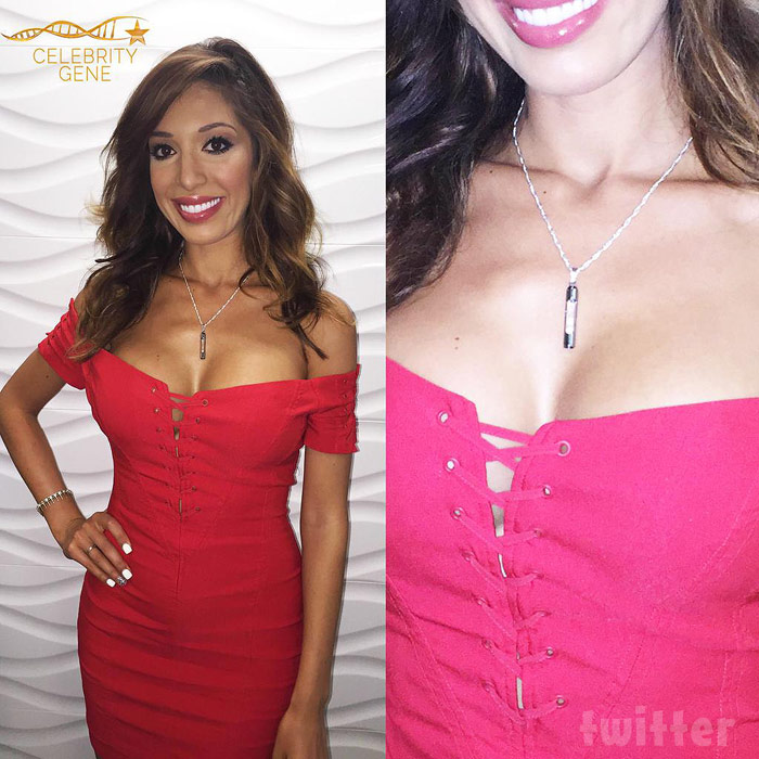 Farrah Abraham DNA necklace