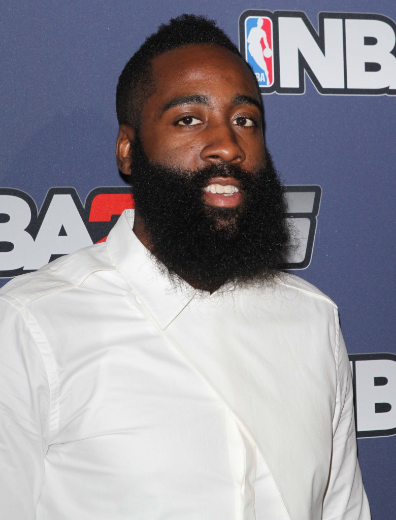 NBA 2K15 Launch Celebration held at the Standard Featuring: James Harden Where: New York, New York, United States When: 23 Sep 2014 Credit: Derrick Salters/WENN.com