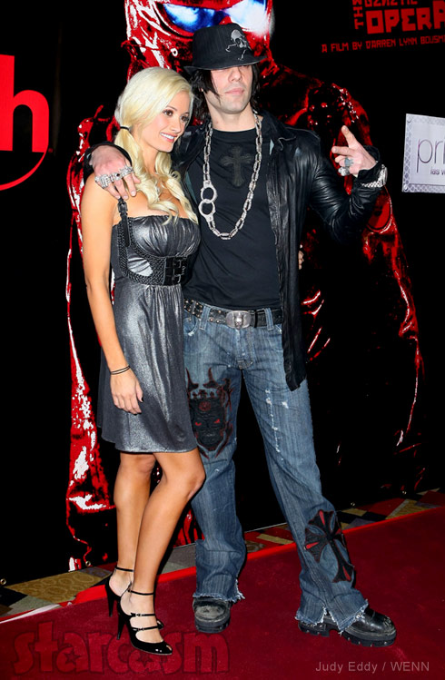 Holly Madison and Criss Angel together