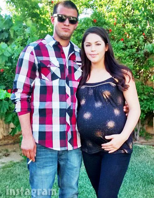 Joey Maes pregnant girlfriend Marissa Cintron
