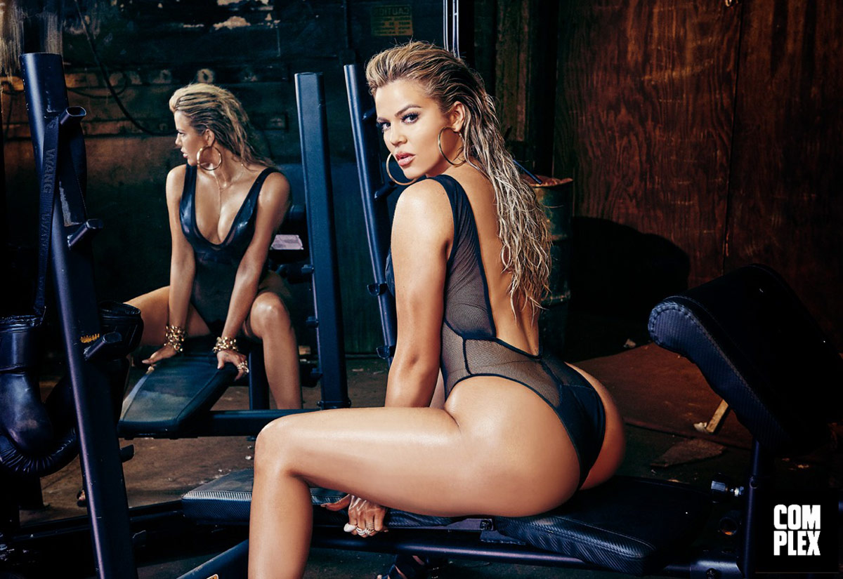 Khloe Kardashian booty pic Complex