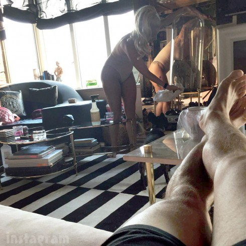 Lady Gaga's house interior