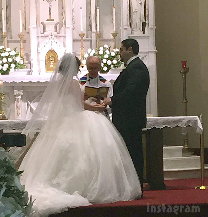 Lauren Manzo wedding photo