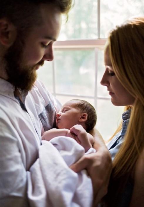 Maci Bookout Jayde Newborn Photos