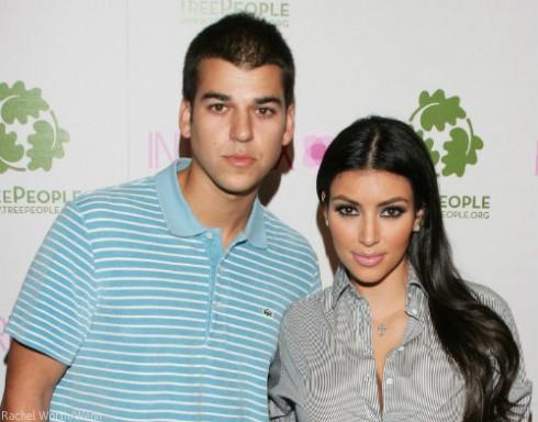 Rob Kardashian and Kim Kardashian Feud