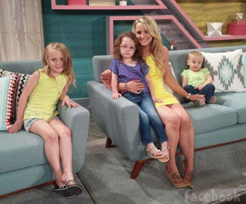 Teen Mom 2 Reunion 2015 Leah and her daughters