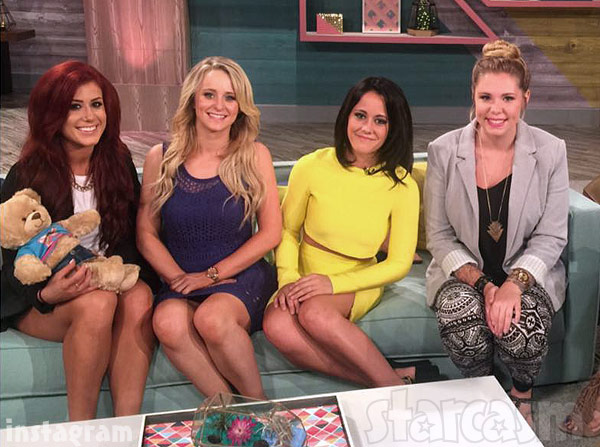 Teen Mom 2 Season 6 Reunion 2015 couch