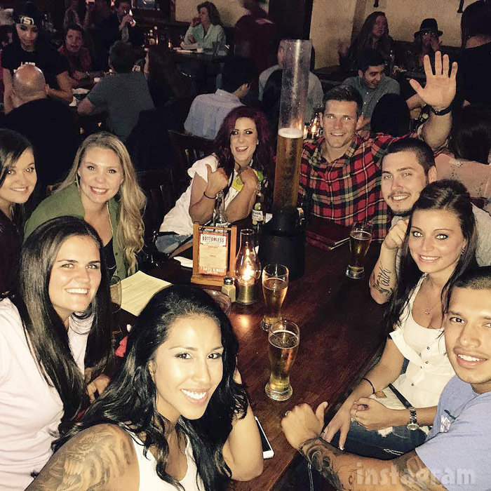 Teen Mom 2 Reunion 2015 group photo
