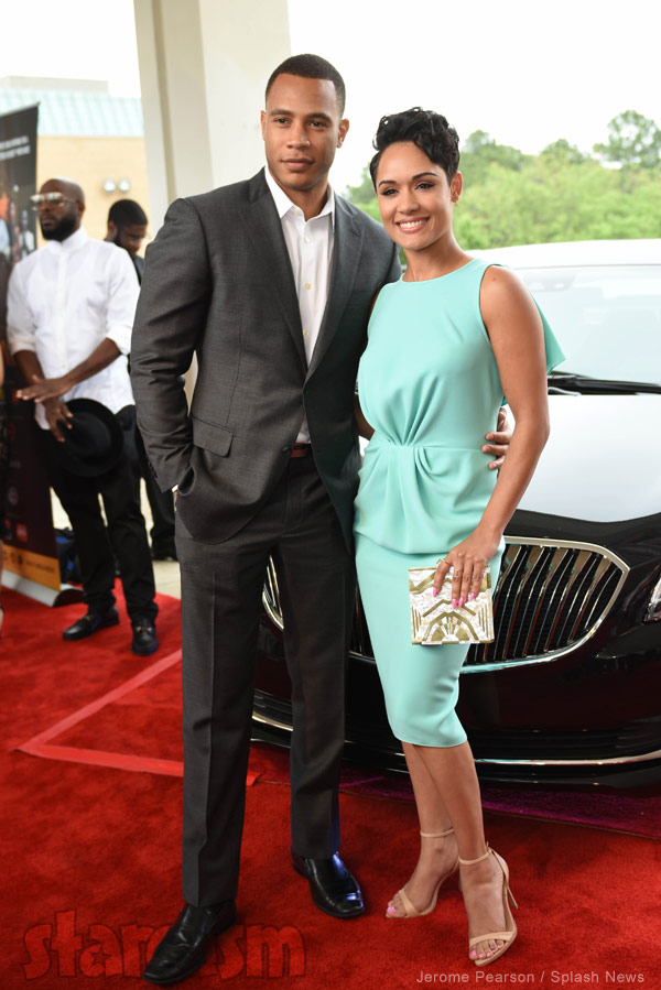 Empire actors Trai Byers Grace Gealey engaged