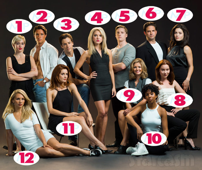 Lifetime The Unauthorized Melrose Place Story cast guide