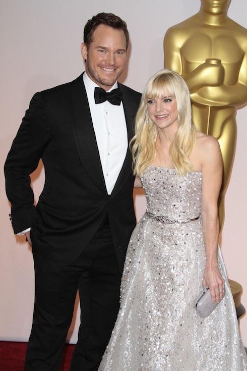 The 87th Annual Oscars held at Dolby Theatre - Red Carpet Arrivals Featuring: Chris Pratt, Anna Faris Where: Los Angeles, California, United States When: 22 Feb 2015 Credit: Adriana M. Barraza/WENN.com