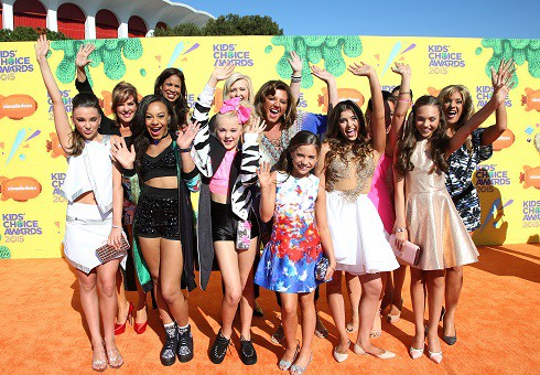 Dance Moms cast at Nickelodeon Kid's Choice Awards 2015