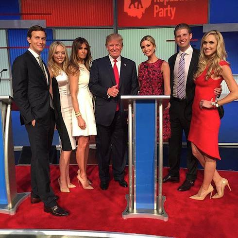 Donald Trump feud family