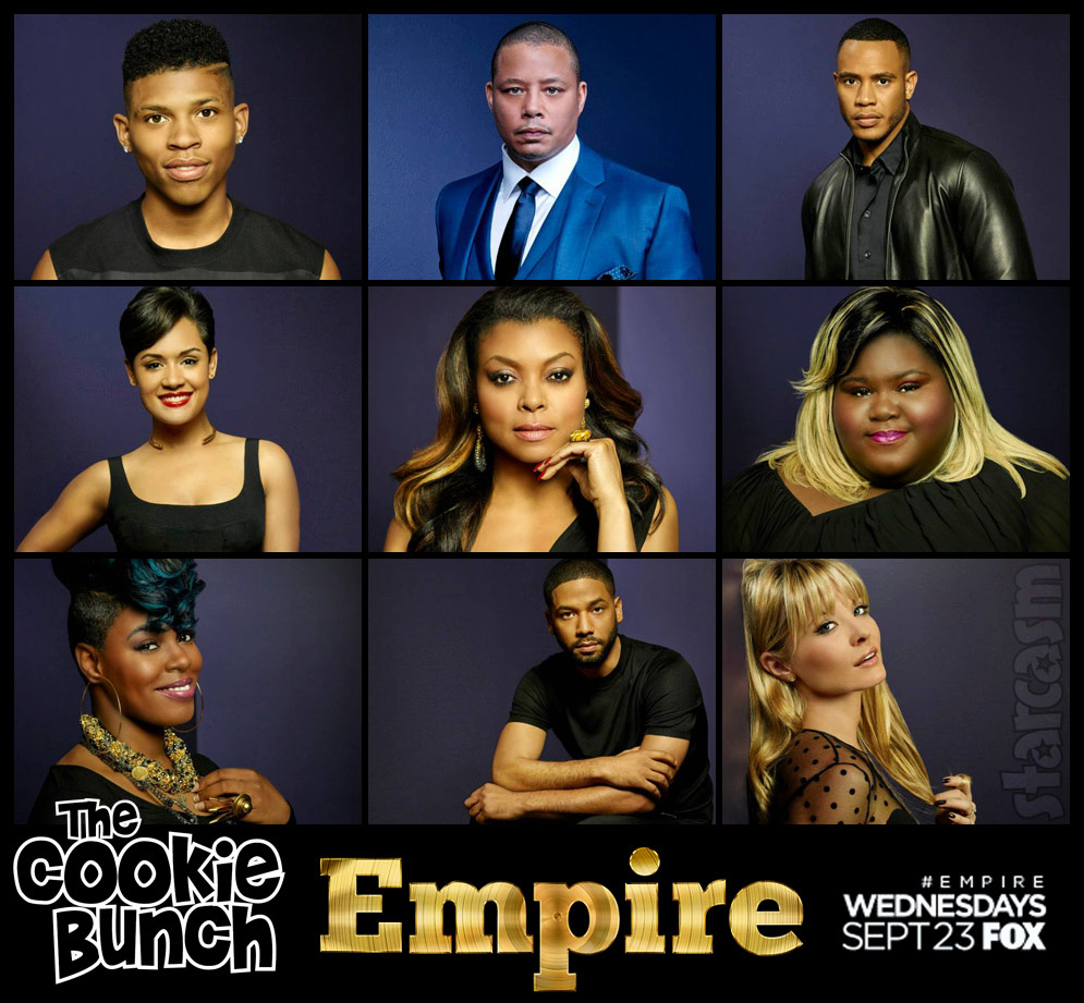 empire season 2 cast photos aka the cookie bunch. Black Bedroom Furniture Sets. Home Design Ideas