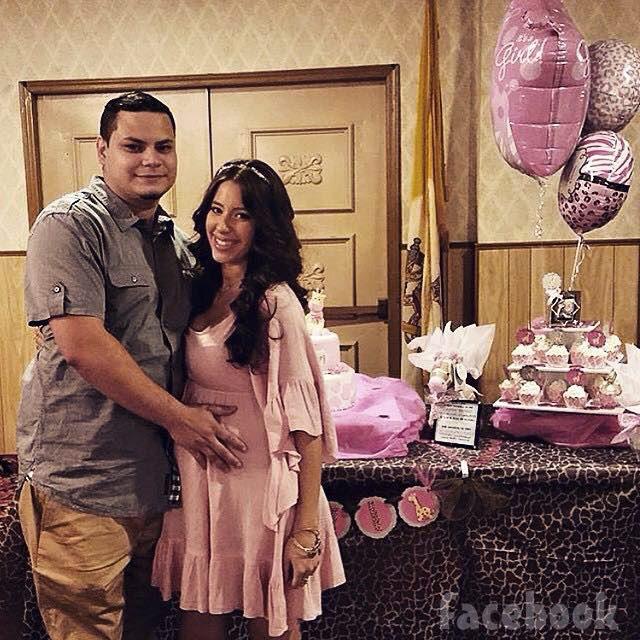 Jo Rivera Vetzabe Vee Torres baby shower for Vivi