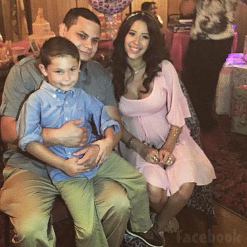 Jo Rivera Vetzabe Vee Torres baby shower Isaac