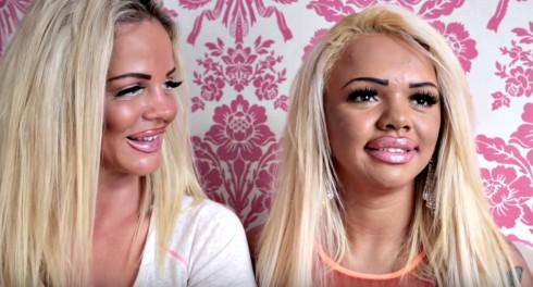 Kayla Morris and Georgina Clake After Plastic Surgery