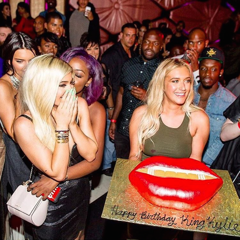 Kylie Jenner birthday 2