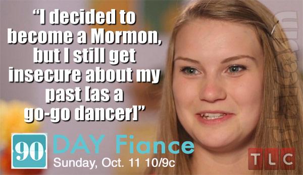 90 Day Fiance Season 3 Aleksandra Mormon quote