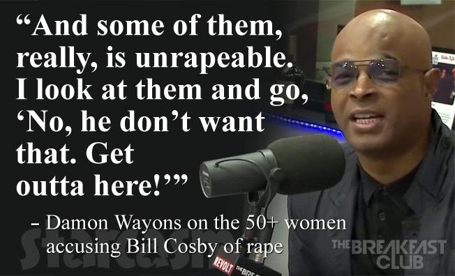 Damon Wayans Bill Cosby quote