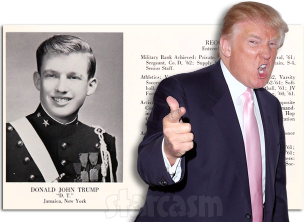 Donald Trump military school