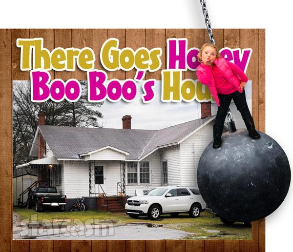 Honey Boo Boo house torn down