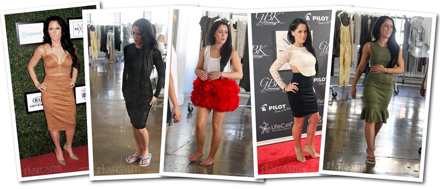Jenelle Evans New York Fashion Week 2015