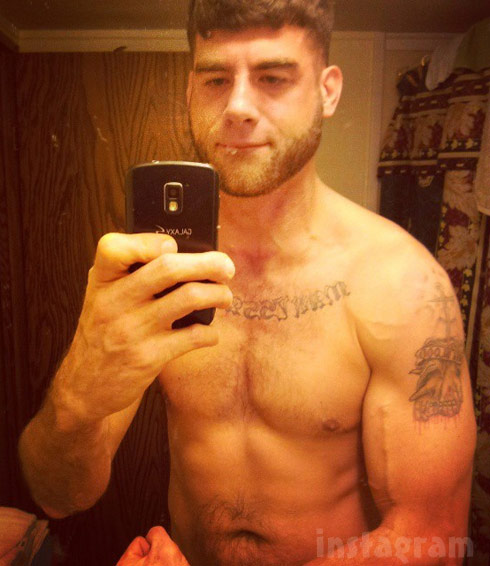 Teen Mom 2 Jenelle Evans boyfriend David Eason shirtless