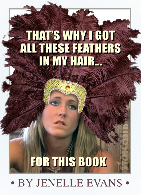 Jenelle Evans book cover That's why I got all these feathers in my hair for this book