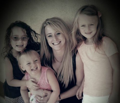 Leah Messer and Daughters 2015