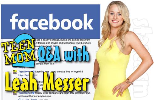 Teen Mom 2 Leah Messer interview 2015