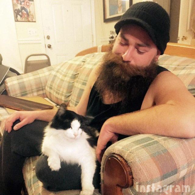 My Big Fat Fabulous Life Lennie Alehat cat