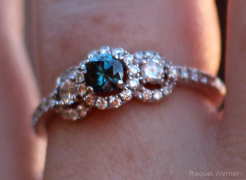 Maddie Brown engagement ring