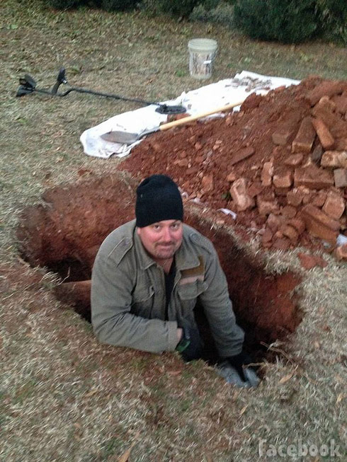 Mike Scott Rebel Gold treasure hunting reality show on Discovery