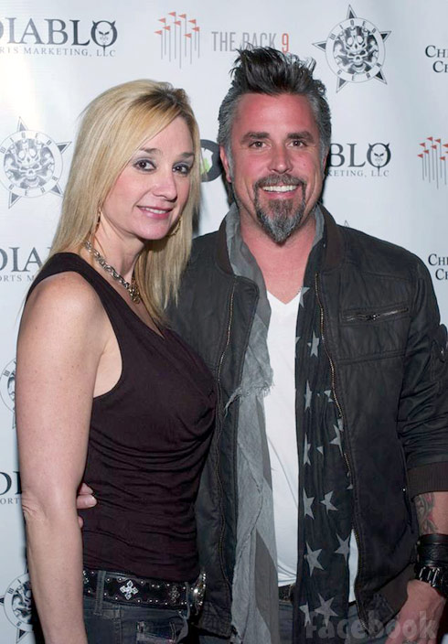 Richard Rawlings and wife Suzanne Rawlings together