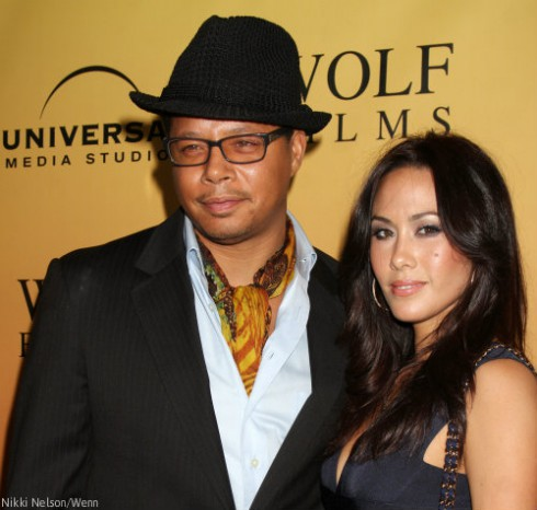 Terrence Howard and Second Wife Michelle