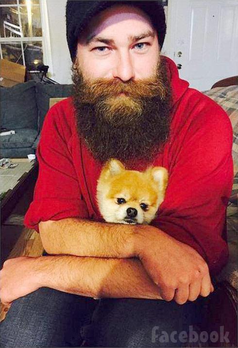 Whitney Thore boyfriend Lennie Alehat dog