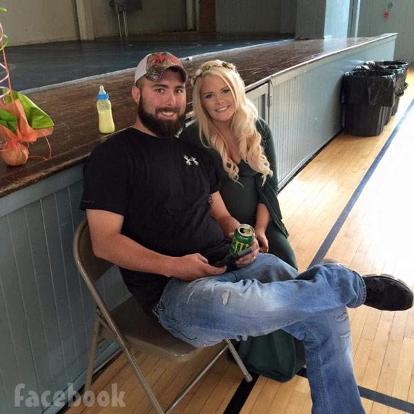 Corey Simms and Miranda Simms baby shower