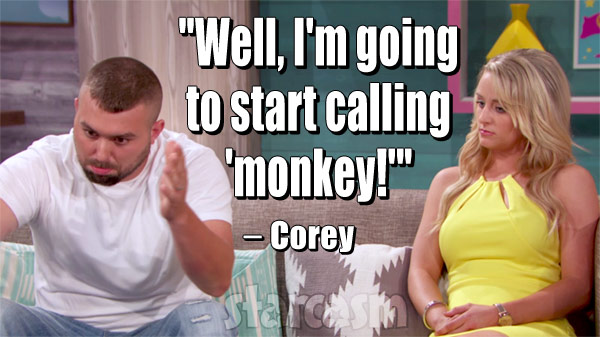 Corey Simms monkey quote
