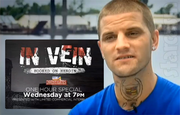 Courtland Rogers heroin documentary In Vein: Hooked on Heroin