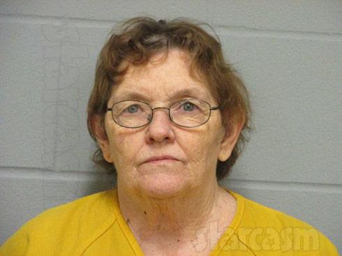Sister Wives Meri Brown catfish Jackie Overton's mother Della Jean Overton arrest mug shot