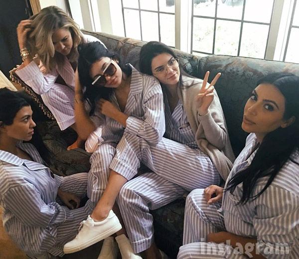 Kardashians pajamas