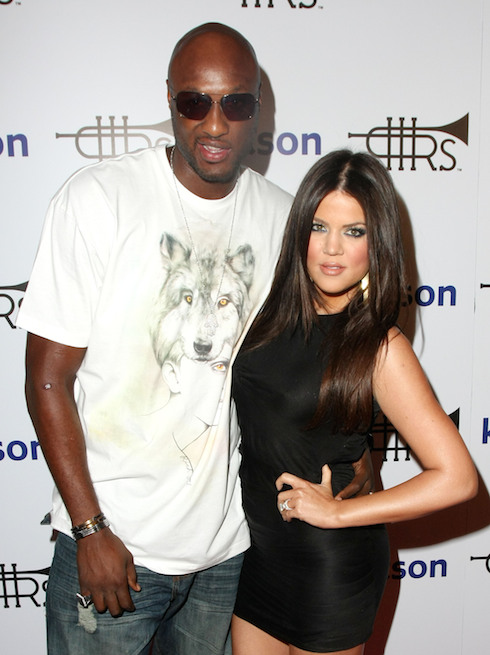 Lamar Odom and Khole Kardashian Lamar Odom Launches Rich Soil at Kitson. Los Angeles, Featuring: Lamar Odom and Khole Kardashian Where: California, California, United States When: 21 Oct 2009 Credit: WENN