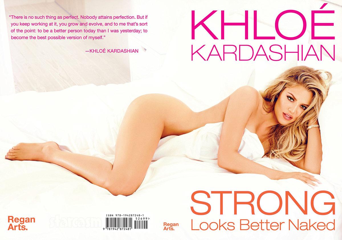 Khloe Kardashian Strong Looks Better Naked book cover full width image