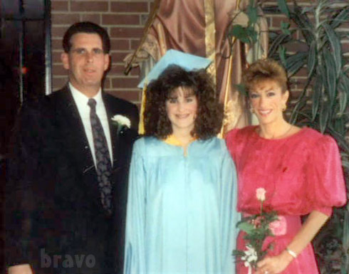 Kim Zolciak parents high school graduation